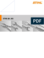 Stihl Chainsaw 024,026 (German)