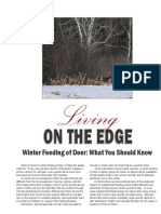 Deer Winter Feeding