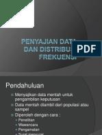 Pertemuan 3_Penyajian Data Dan Distribusi Frekuensi