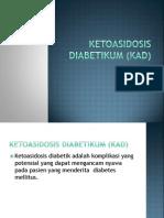 Ketoasidosis diabetikum (KAD)