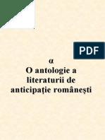 α - O antologie a literaturii de anticipație românești