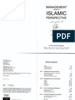 Management From Islamic Perspective