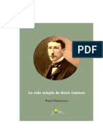 La Vida Simple de Rene Guenon