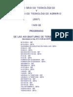 programas 3ero cbtycbta 2007