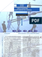 Cuaderno001 - Aspecto Financiero y Aspecto Humano de La Empresa