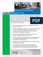 NJ Safe Routes To Schools Strategies and Tips