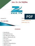 Zee - Final Ppt