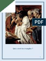 Qui a Ecrit Les Evangiles
