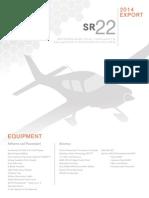2014 SR22 Export Pricelist v2