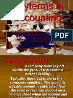 Engleza Accounting Terms