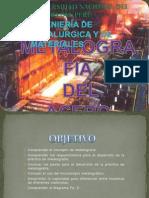 INTRODUCCIÓN DE LA METALOGRAFIA