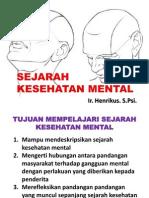 II Sejarah Kesehatan Mental