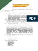 Tema 9.-Enfermedad Suprarrenal Primaria