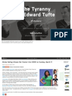 The Tyranny of Edward Tufte