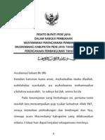 Pidato Bupati Musrenbang 2011 (1)
