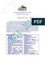 PLANO DE CURSO 6° ANO MONSENHOR 2014-2016
