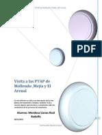 Informe de La Visita a Las PTAP