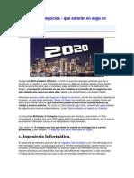 10 Trabajos Para El 2020