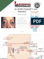 Wolff-Chaikoff y Jod Basedow