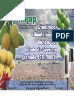 Estadisticas Climatologicas Basicas Para El Estado de Guerrero