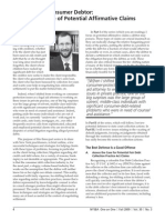 Daniel Schlanger, Assisting the Consumer Debtor, part 1