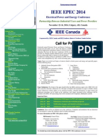 EPEC 2014 Call for Papers Final