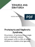 22 - Proteinuria and Hematuria