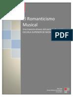 Ensayo Romanticismo Musical
