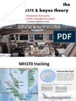 MH370 and The Bayes Theory