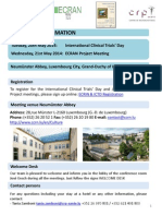 ECRAN Luxembourg - Pratical Informations&Program