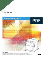 LBP5360-Anwenderhandbuch