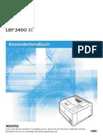 LBP3460-Anwenderhandbuch