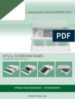 Optical Distribution Frames
