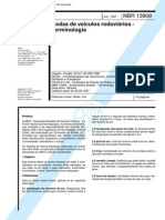 NBR 13909 (Jul 1997) - Rodas de veículos rodoviários - Terminologia