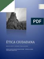 ÉTICA CIUDADANA  TIPOS DE AUTORIDAD
