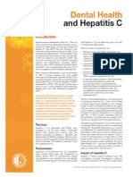 Dental and Hepatitis C