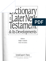 Dictionary of the Later New Testament & Its Developments (the IVP Bible Dictionary Series) 1997a