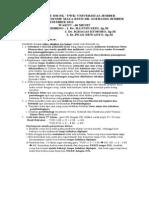 1. POST TEST 27 Des 2011 Reguler