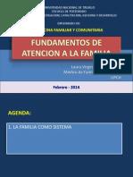 Fundamentos de La Familia (Personal Profesional)