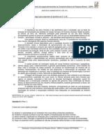 CBPM Prova 001 Assistente Administrativo