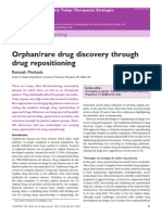 Orphan Rare Drug Discovery Through Drug Repositioning