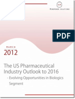 The US Pharmaceutical Industry Outlook to 2016