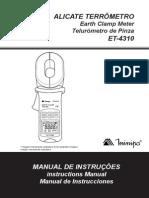 AlicateTerrometro ET 4310 1101 BR