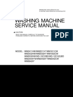 LG Washer Service Manual