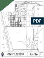 El Segundo city map