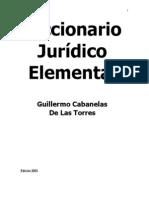 Diccionario Juridico Elemental.cabanellas,Ed.2003