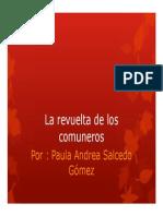 Unidad 2 La revuelta de los comuneros - Paula Andrea Salcedo Gómez