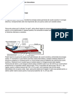 Modul de Functionare Al Celulelor Fotovoltaice