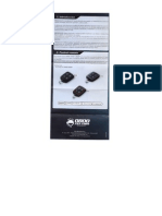 Manual Alarma PST Cyber Fx