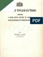 Schmall Lajos - Buda-Pest utczái és terei